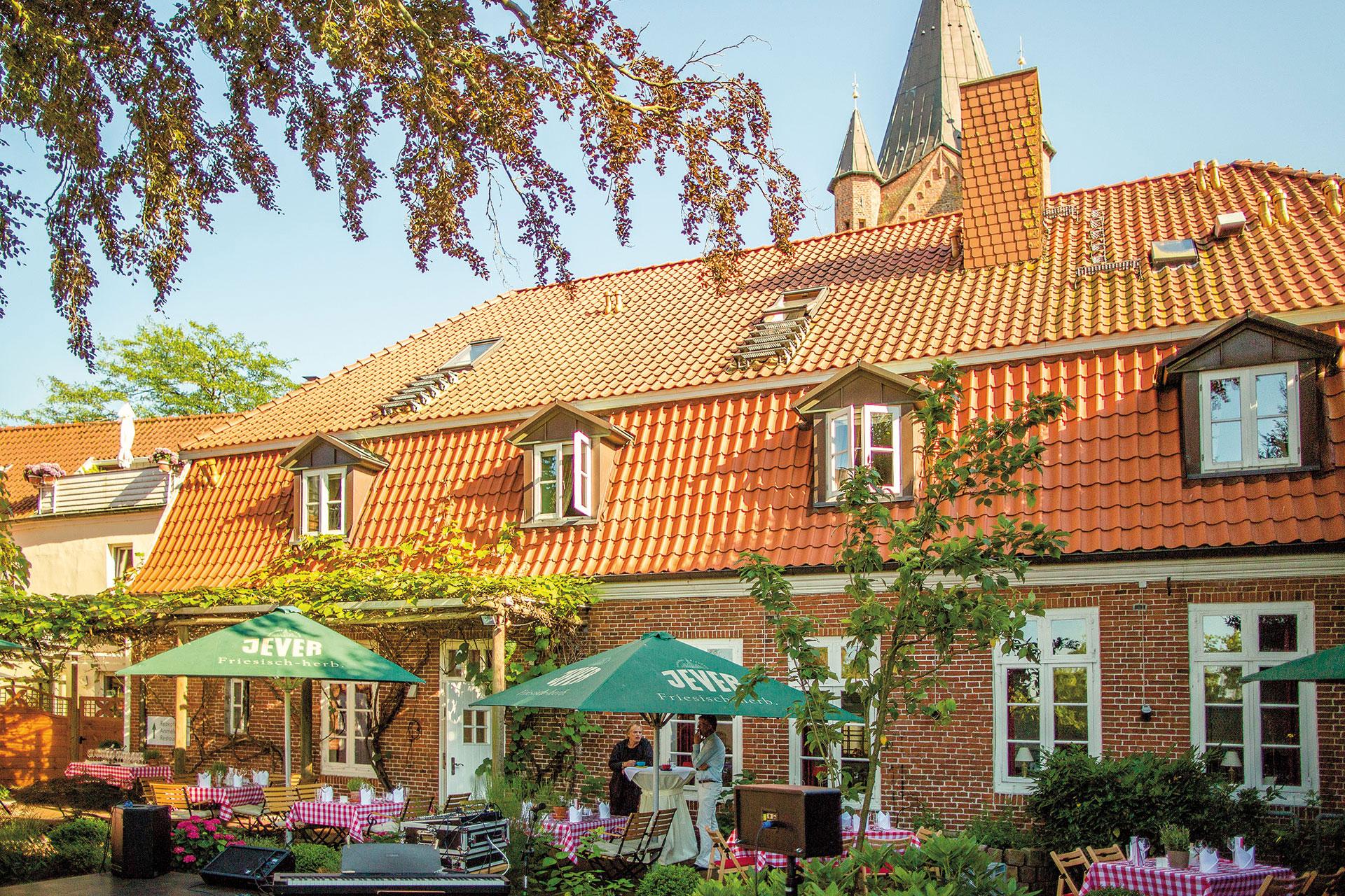 Biergarten in Westerstede