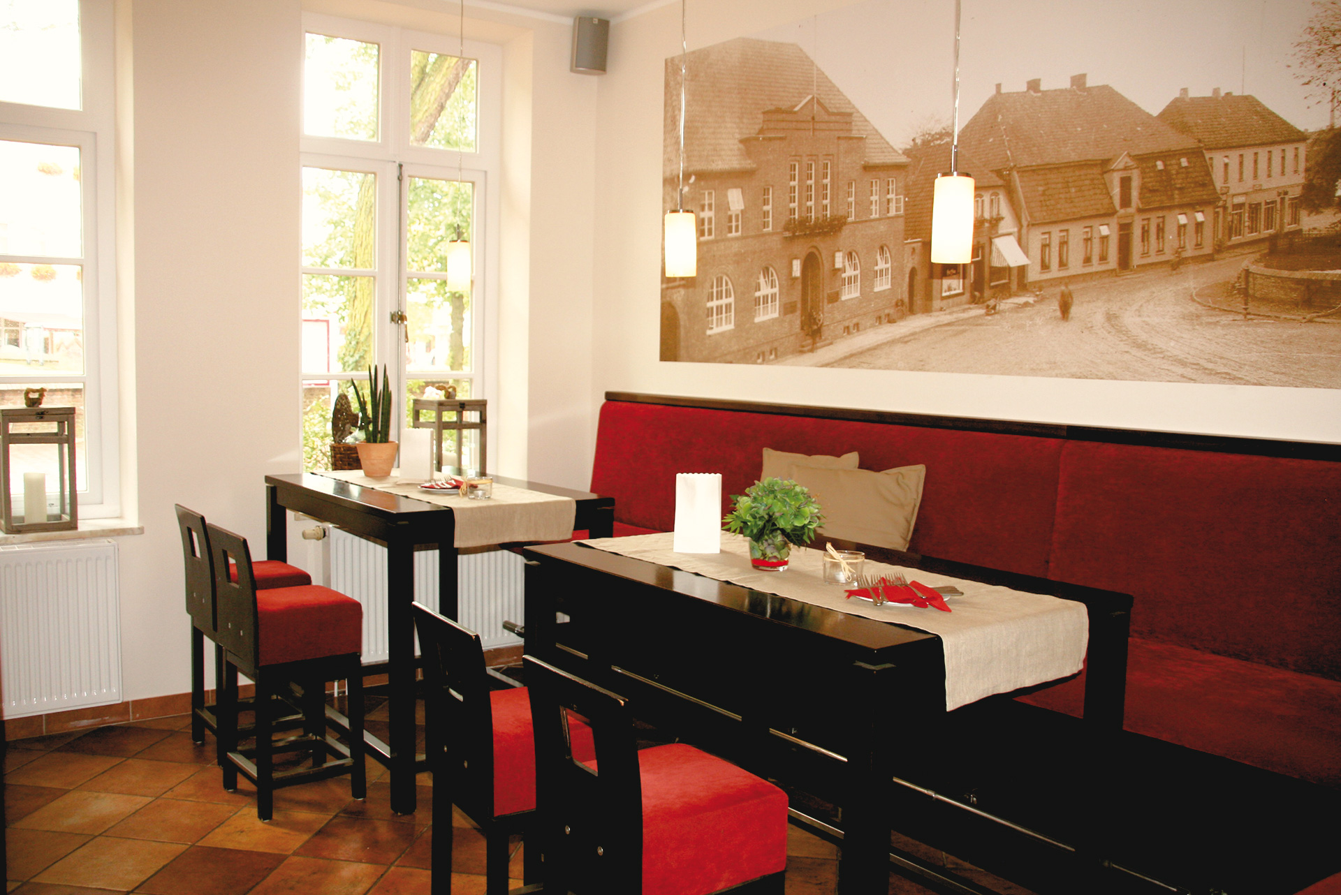 Tische in der Stadthaus Schänke